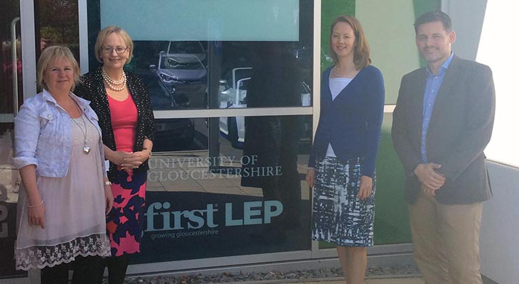 Julie Girling MEP visits The Growth Hub