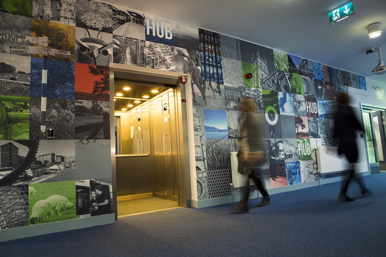 The Growth Hub entrance