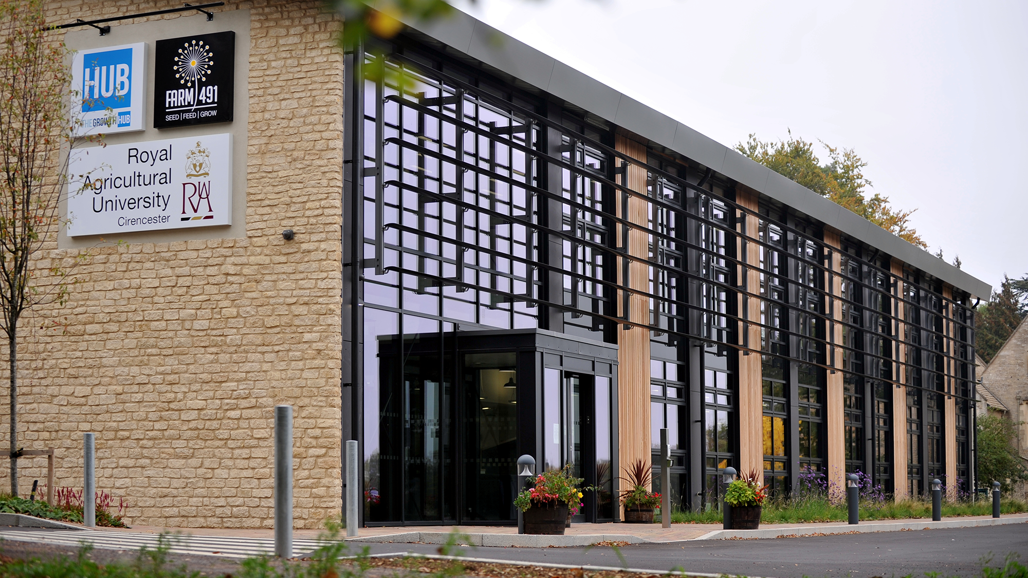 Ciren Growth Hub exterior