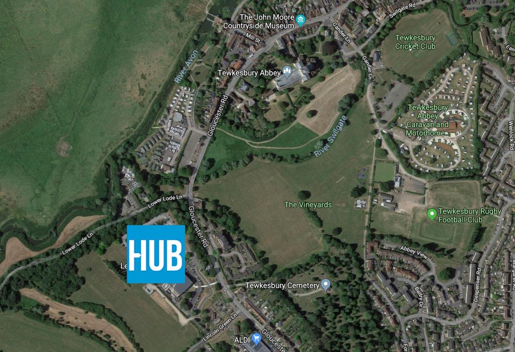 Tewkesbury Growth Hub Location