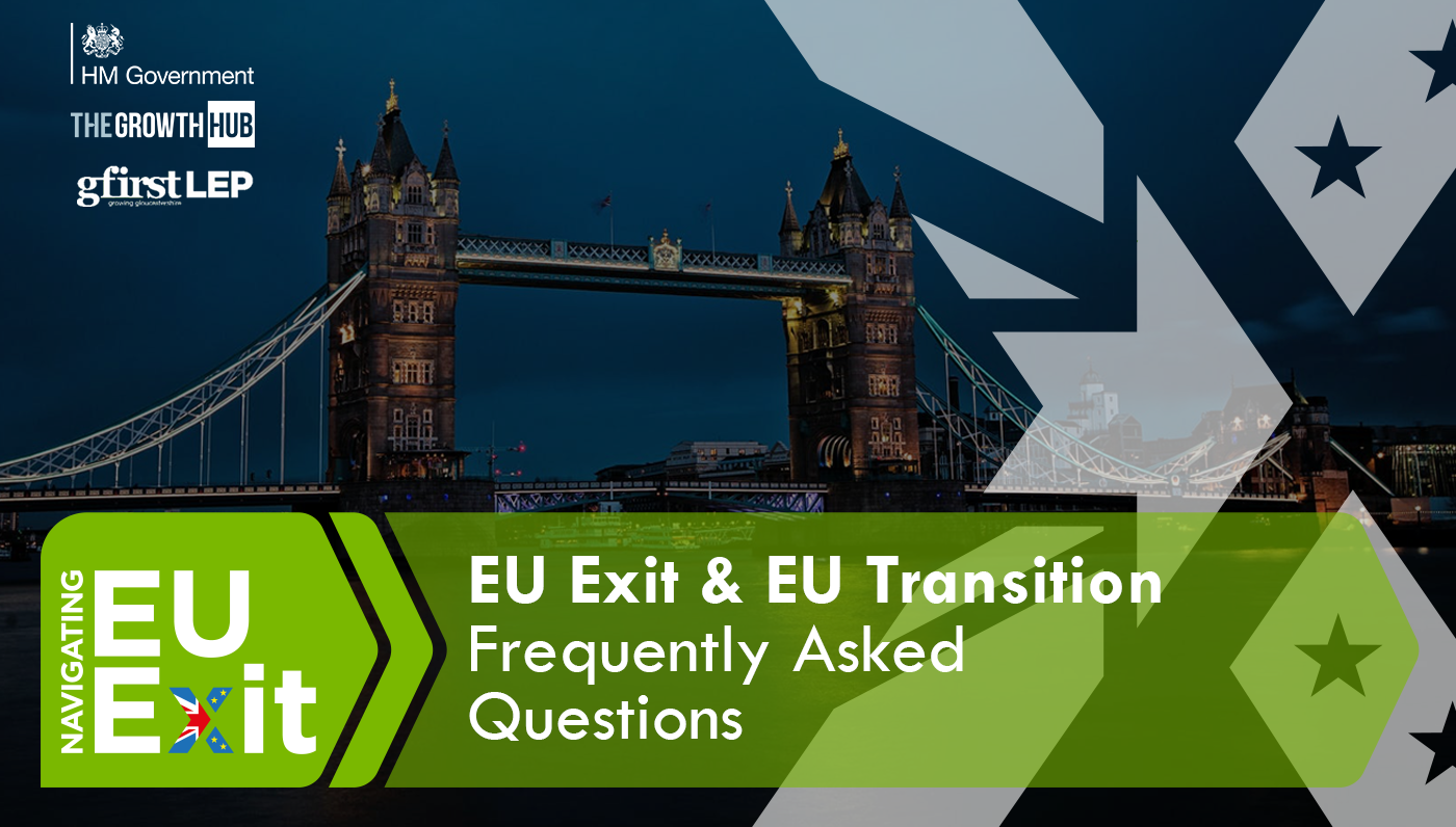 EU Exit - Frequently Asked Questions