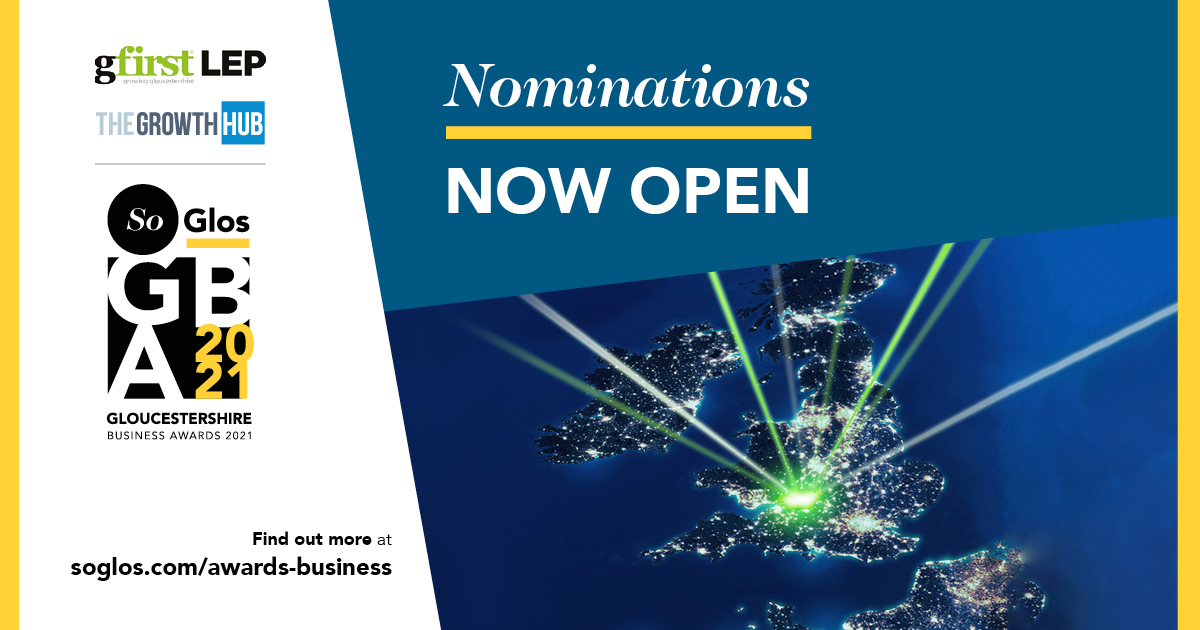 Nominations open for SoGlos Gloucestershire Business Awards 2021