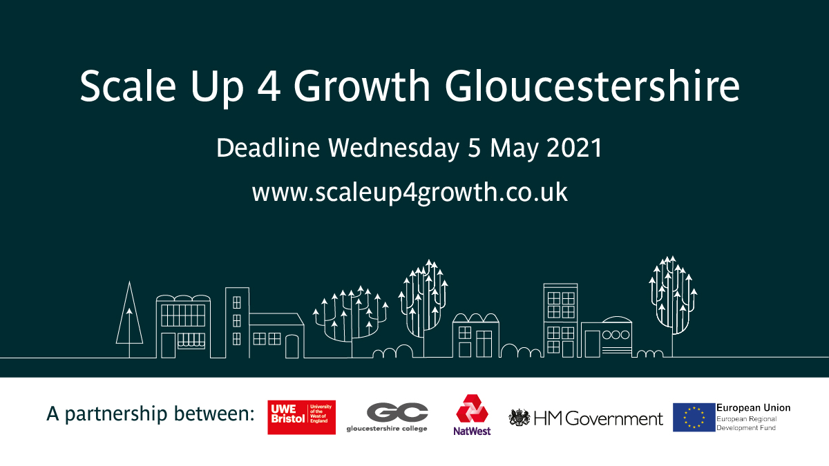 Tewkesbury and Cheltenham lead the way as SMEs from across Gloucestershire flood in to claim grants of up to £40,000 through Scale Up 4 Growth