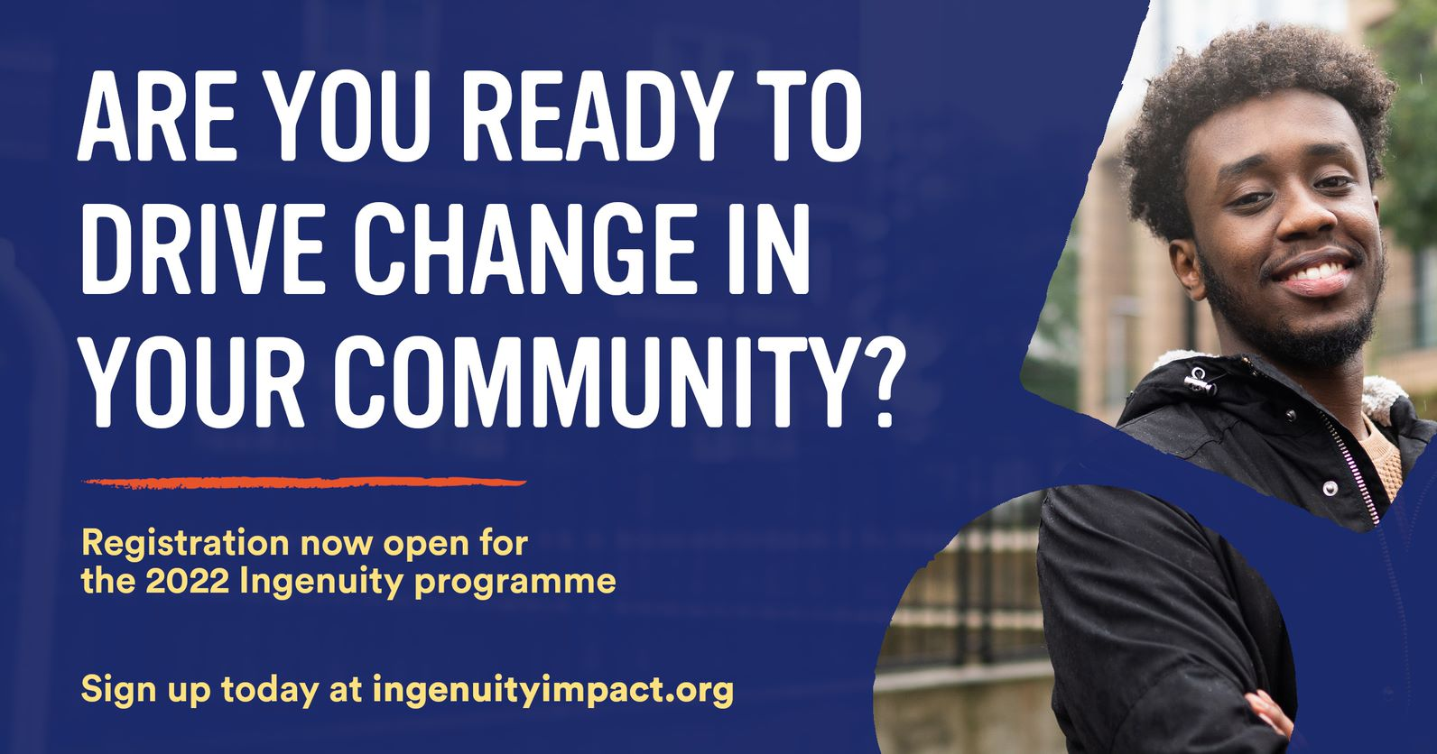 We're looking for next generation of impact-driven start-ups that will transform society and the environment