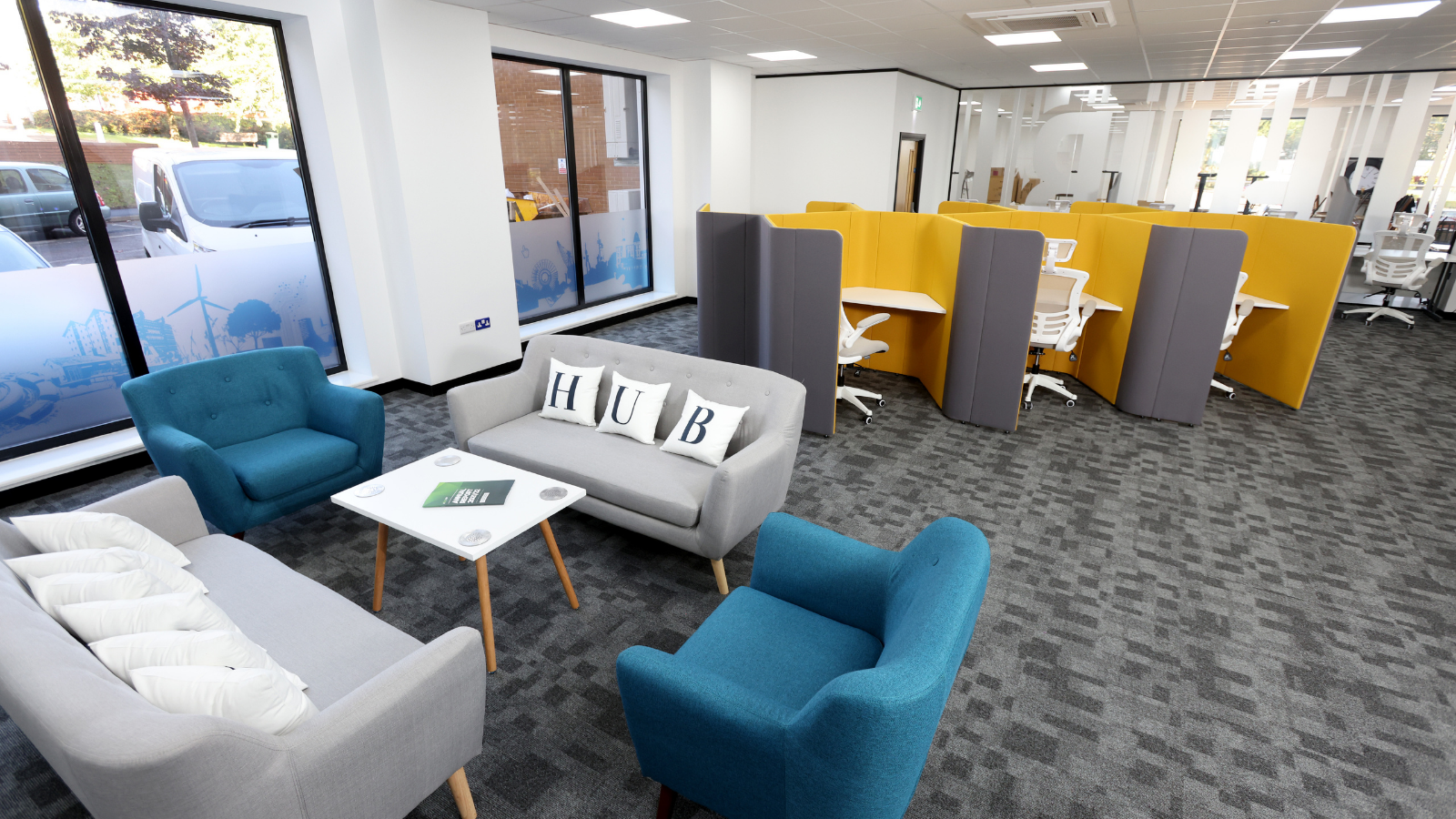 Forest of Dean Growth Hub co-working space