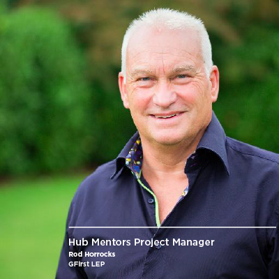 Rod Horrocks, Hub Mentors project manager
