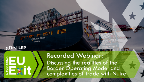 Recorded Webinar: Discussing the realities of the  Border Operating Model and  complexities of trade with N. Ire