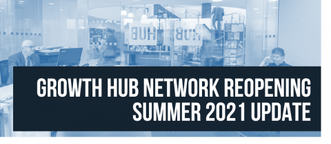 Growth Hub Network Reopening Summer 2021 update