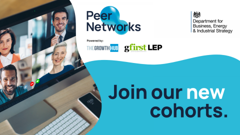 Gloucestershire's Peer Networks programme extended by BEIS to include three new cohorts