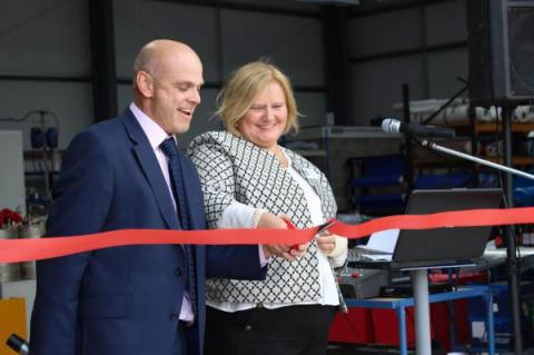 Local manufacturing business doubles in size following University of Gloucestershire funding