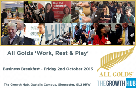 Versarien Plc and Cinderford RFC lead October's All Golds Business Breakfast