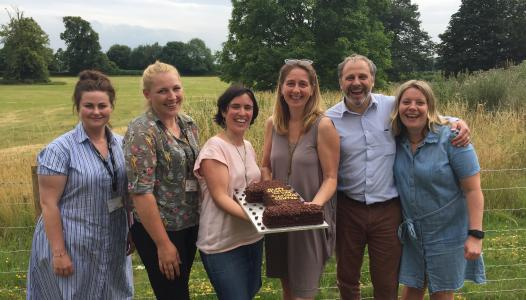 Cirencester Growth Hub celebrates their first birthday with cake