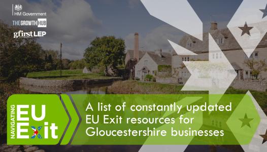 A list of constantly updated EU Exit resources for Gloucestershire businesses