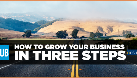 How to grow your business in three steps