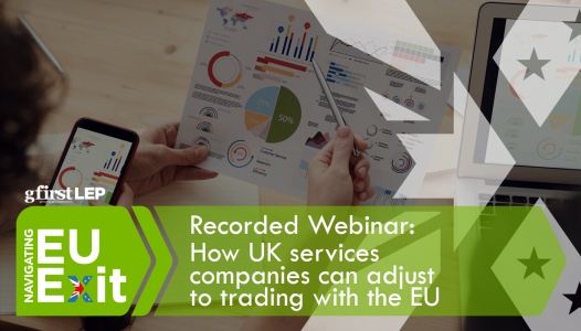 Recorded Webinar: How UK services companies can adjust to the new way of trading with the EU