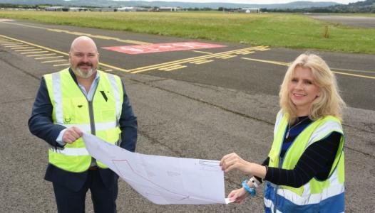 karen taylor gloucestershire airport